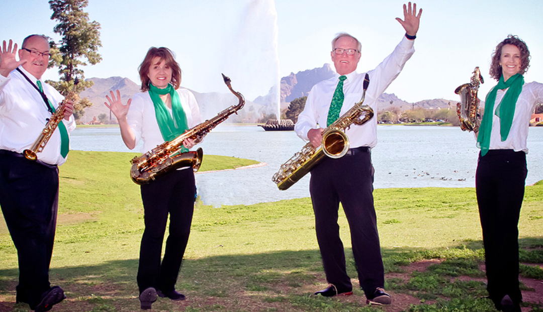 Fountain Hills Saxophone Quartet at Flutter 2020